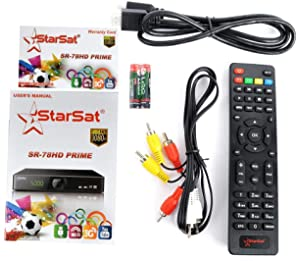 StarSat SR-8989 HD Digital Satellite Receiver: Amazon com