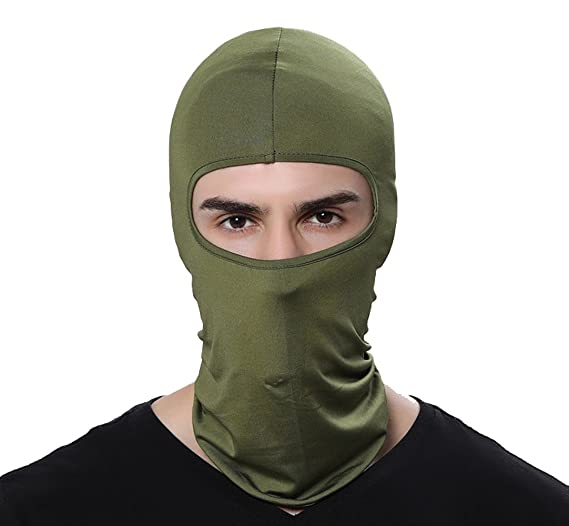 5a68691bc07da GAMWAY Ski Mask Balaclava Hood Skullies Beanies Outdoor Sports Cycling Hat  (ArmyGreen)