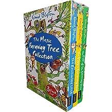 Magic Faraway Tree Collection Enid Blyton 3 Books Set (The Enchanted Wood, The Magic Faraway Tree, The Folk of the Faraway Tree)