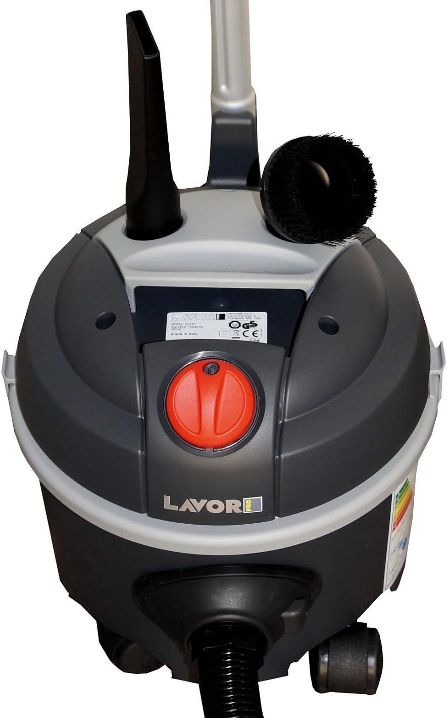 B/ürosauger mit extrem flacher Bauweise und geringer Lautst/ärke | Schallged/ämpfter Hotelsauger SILENT PRO kompakt einstufiger Motor 76 dB