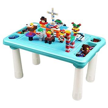 Mesa De Construcción Y Aprendizaje Mesa de madera for niños Mesa ...