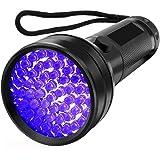 HaobaseUV Flashlight Black light UV Lights 51 LED Ultraviolet Blacklight Pet Urine Detector For Dog/Cat Urine,Dry Stains…