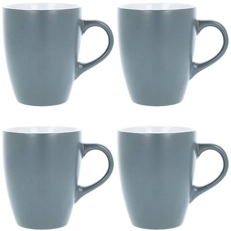 COM-FOUR® Taza de café de cerámica 4x - Taza de café de ...