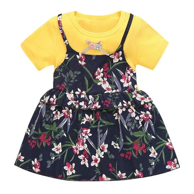 Luckycat pequeña Princesa Vestidos Monos Peleles Mamelucos Ropa Ropa Bebe Niña Verano Chicas Chaleco Vestido Bebe