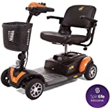 Golden Technologies Buzzaround XL 4 Wheel Power Scooter GB147, Orange
