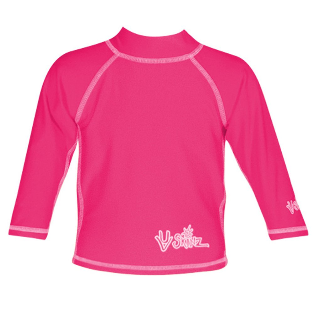 UV SKINZ UPF50 Baby Girl Long Sleeve Sun /& Swim Shirt 010350