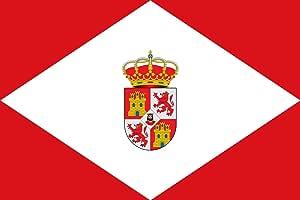 magFlags Bandera Large Villadiego, Burgos, España | Bandera Paisaje | 1.35m² | 90x150cm: Amazon.es: Jardín