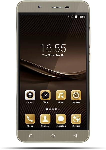 Kivors Smartphone Libre Mate 9 Plus Smartphone Android (6 Pantalla HD IPS, MTK6580A Quad Core, 8MP Cámara, 8GB ROM, Android 5.1, Bluetooth 4.0, 3G Dual SIM Móvil): Amazon.es: Electrónica