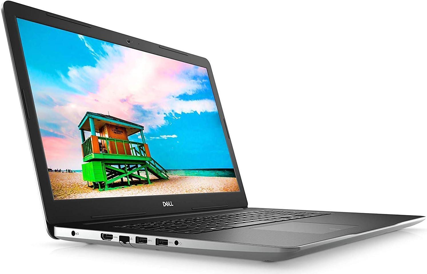 """Dell Inspiron 17 3780 Laptop (Intel i7-8565U 4-Core, 16GB RAM, 256GB m.2 SATA SSD + 2TB HDD, AMD Radeon 520, 17.3"""" Full HD (1920x1080) i3780-7407SLV-PUS (Renewed)"""