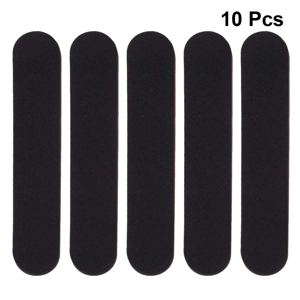 DOITOOL Reductor de tama/ño de Sombrero inserte Cinta Reductora de Espuma para Sombreros Gorras Sweatband 10pcs Negro