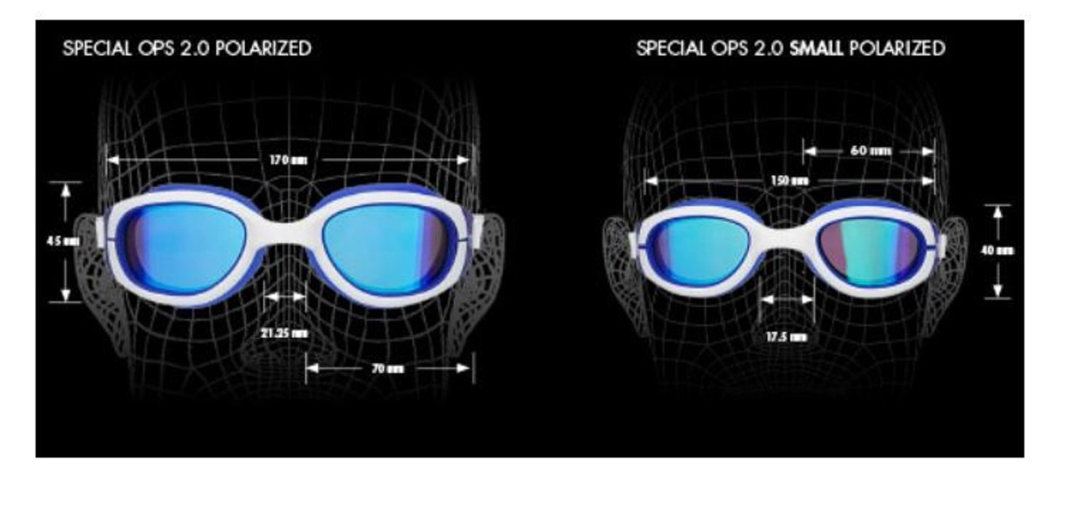 be0d6dc230 TYR Women s Special Ops 2.0 Femme Polarized Racing Performance Goggles   Amazon.co.uk  Sports   Outdoors