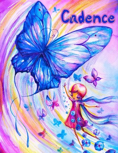 """Download Cadence: Personalized Book with Name, Journal, Notebook, Diary, 105 Lined Pages, 8 1/2"""" x 11"""" pdf epub"""