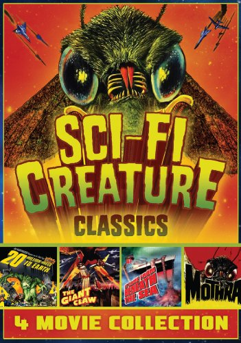 Sci-Fi Creature Classics – 4-Movie Set – 20 Million Miles to Earth – The Giant Claw – It Came From Beneath The Sea – Mothra