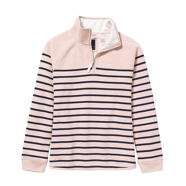 Crew Clothing Damen Sweatshirt 1/2 Zip