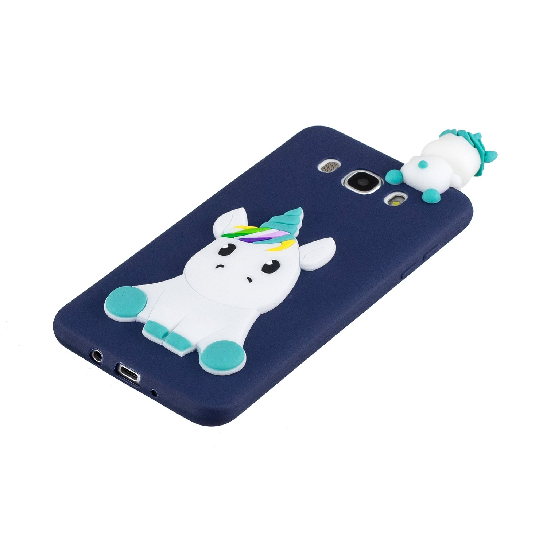 Rosa HopMore Kawaii Einhorn f/ür Samsung Galaxy J5 2016 H/ülle Silikon 3D Schutzh/ülle Tier Muster Bumper Design Ultra D/ünn Slim Handyh/ülle One Piece Silikonh/ülle Case Cover f/ür Samsung J5 2016