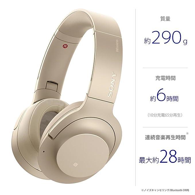 h.ear on 2 Wireless NC WH-H900N Pale Goldの写真05。おしゃれなヘッドホンをおすすめ-HEADMAN(ヘッドマン)-