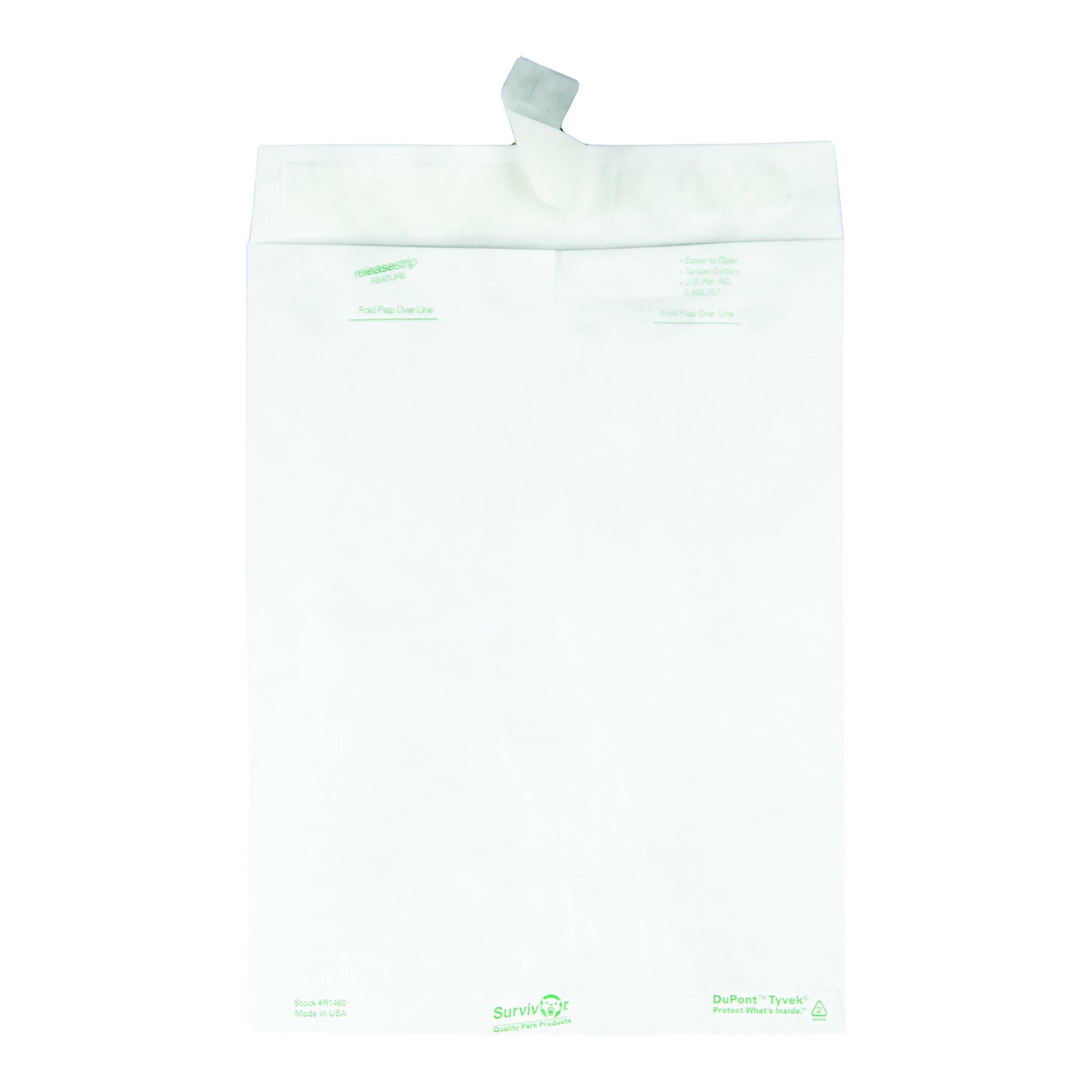 Quality Park Survivor R1460 Tyvek Mailer, 9 x 12, White (Box of 100) by Quality Park (Image #4)