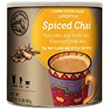 Big Train Carb Conscious Drink Mix Spiced Chai 2 Lb (1 Count) Low Carb Powdered Instant Chai Tea Latte Mix, Spiced Black…