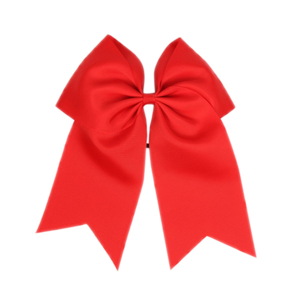 ZOONAI Women Teen Girls Large Classic Hair Accessories Big Hair Bow Ponytail Holder Hair Tie Navy