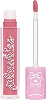 product image for Lime Crime Plushies Soft Matte Lipstick, Rosebud - Sheer Nude Pink - Blackberry Candy Scent - Long Lasting, Nude Lips - Soft Focus, Non-Opaque Lip Veil - 0.11 fl oz