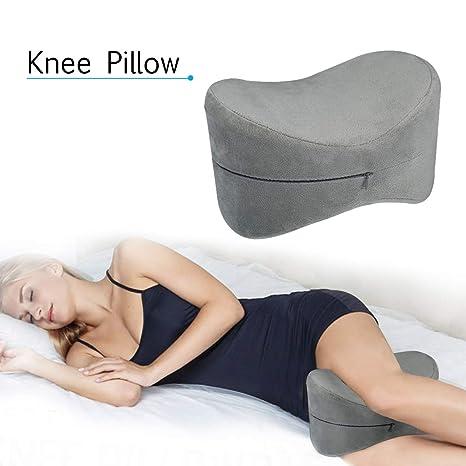 Almohada de rodilla EsSord, espuma viscoelástica, diseño ...