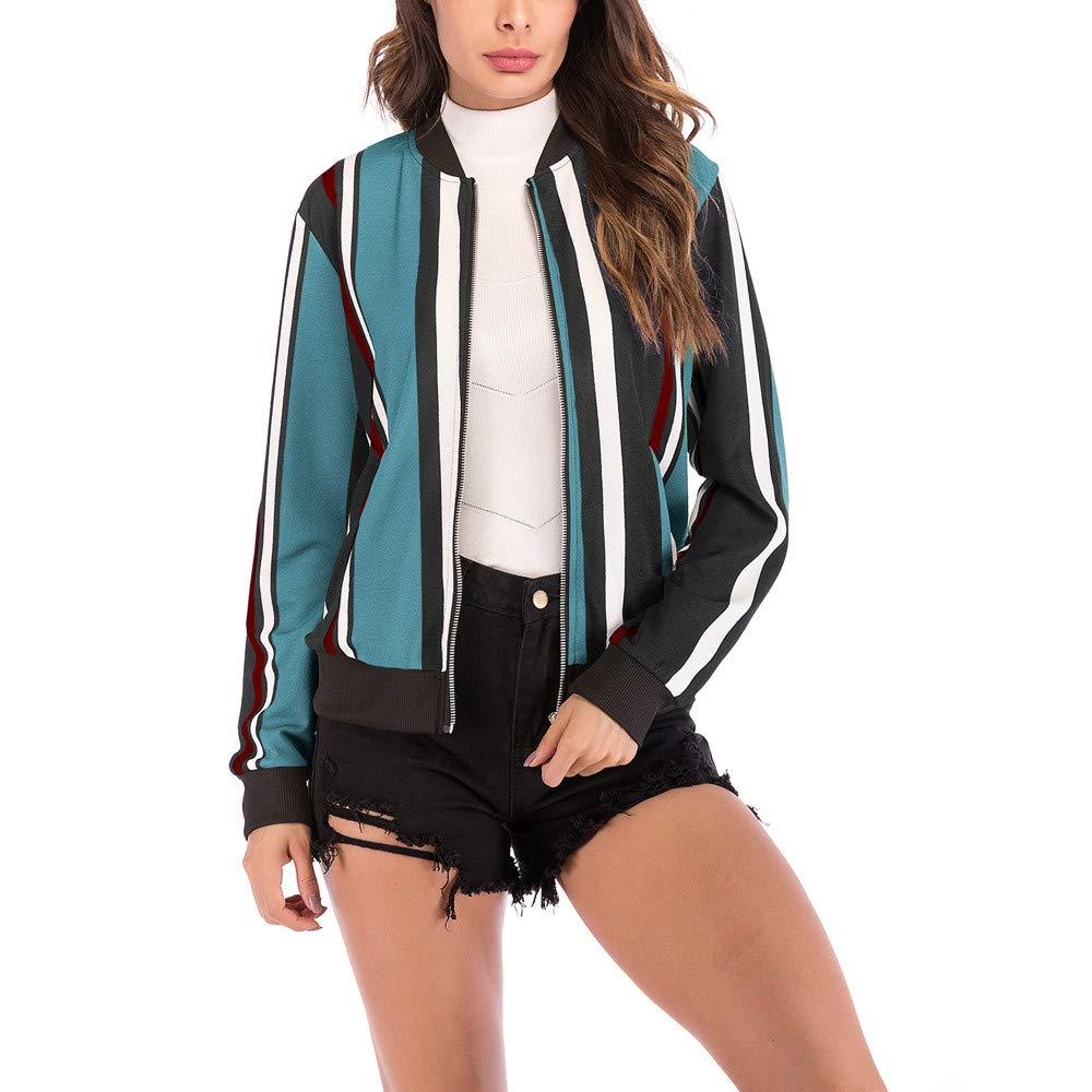 Cheap Jackets Winter Windbreaker Print Baseball Coat Cardigan AfterSo Womens