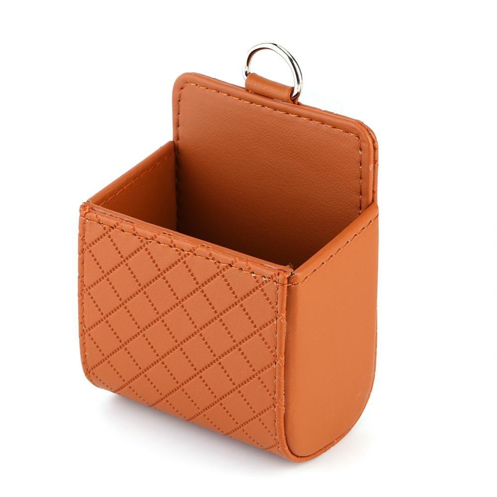 Car Storage Organizer Car Interior Accessories Organizer Pockets Glasses Card Holder Storage Bag Phone Holder with Hook Keenso
