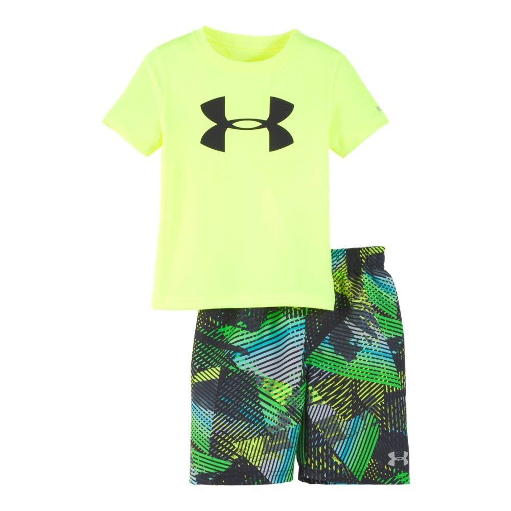 Under Armour Baby Boys UA Volley Set, Hi Gh/Vis