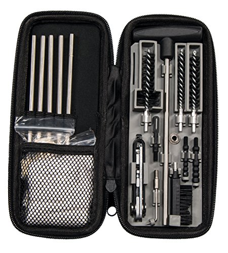 Wheeler Compact Tactical Rifle Cleaning Kit for .22 and .30 Caliber Long Guns by Wheeler