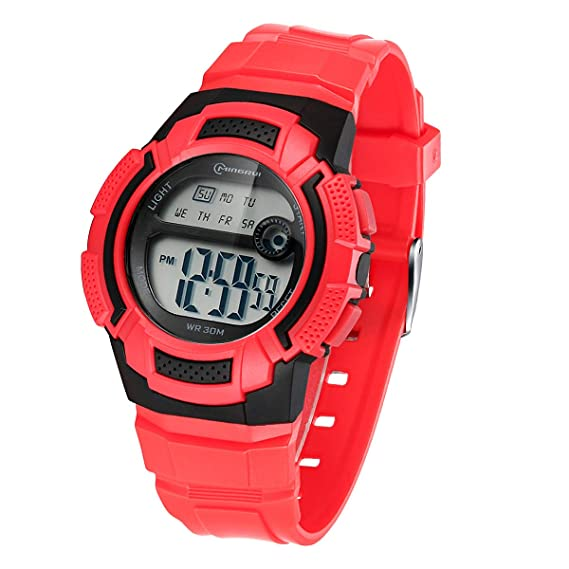 Reloj Digital para niño, Resistente al Agua, Reloj Deportivo Digital de 5 ATM,