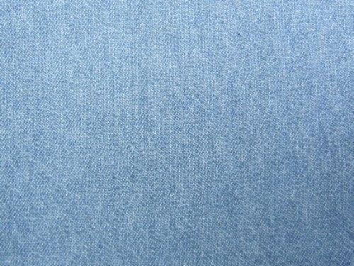 Brand New Real Light Denim Jean Full Size Futon Mattress Cover, Thick and Durable Dark Blue Denim.