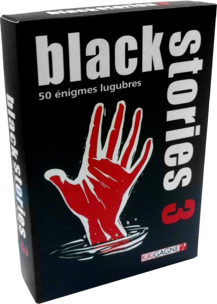 Kikigagne - Kikibs09f - Puzzle Juego - Historias Negras: Amazon.es: Juguetes y juegos