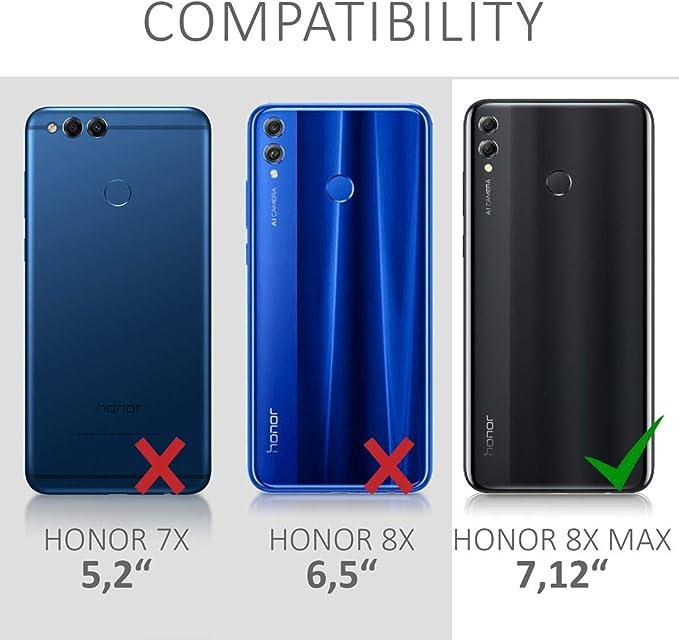 kwmobile Funda Compatible con Huawei Honor 8X MAX: Amazon.es ...