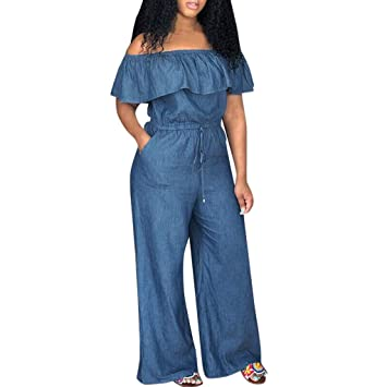 UMei Plus Size Romper for Women Flower Jumpsuits Summer Sleeveless Loose Playsuit Party Fashion Beach Jumpsuits