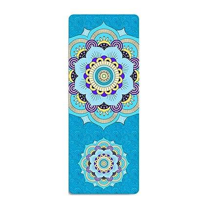wordeye - Esterilla Antideslizante para Yoga (183 x 68 cm ...