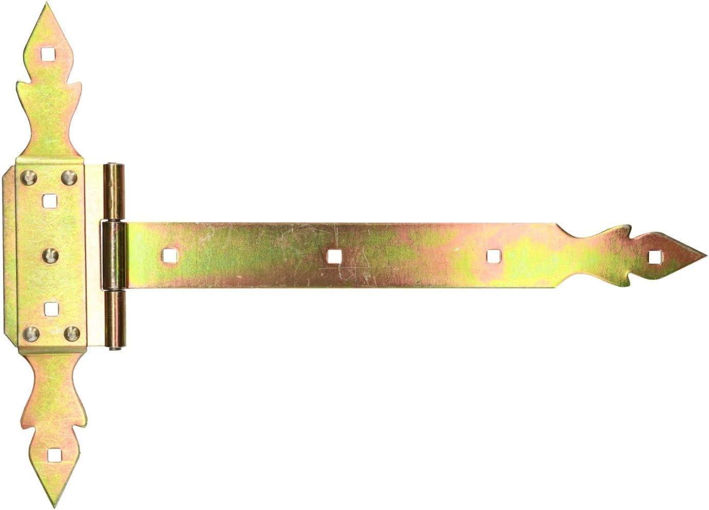 KOTARBAU Kreuzgehänge 250 mm Ladenband Scharnier Band Platte Baubeschlag T-Band