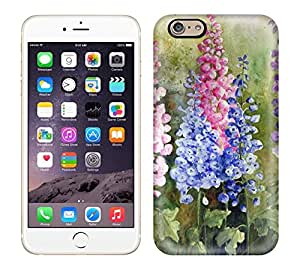 Best Power(TM) Hard Back Cover Skin Cases for iphone 6, Unique Design of Watercolour Florals Yvonne harry Plastic Case, SnapOn, Protector