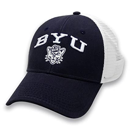 Amazon.com   NCAA Byu Cougars Adult The Game Everyday Trucker Mesh ... 12ad1547619