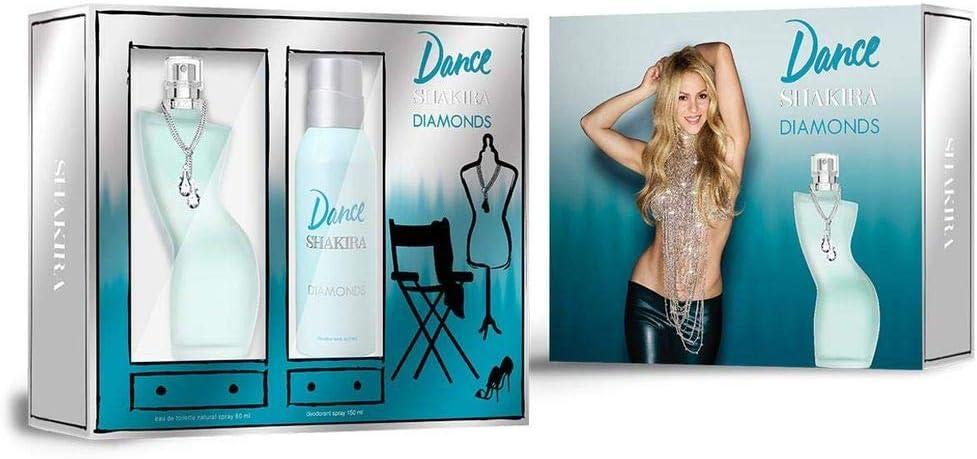banner Kit feminino Dance Diamonds EDT 80ml + Desodorante 150ml