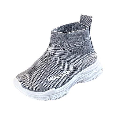 QUICKLYLY Zapatos Bebe/Niños Primeros Pasos Invierno, Zapatilla/Botas 2018,Pequeños Niñas