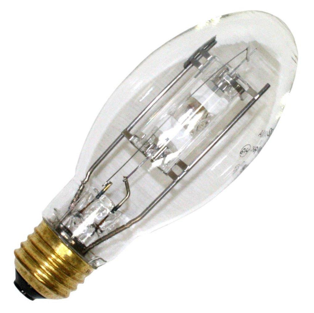 Sylvania 64587 (2-Pack) MP50/U/MED 50-Watt Metal Halide HID Light Bulb, 3000K, 3400 Lumens, E26 Base