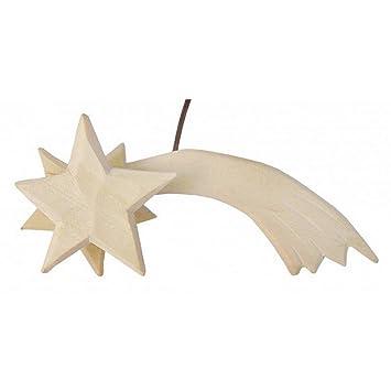 Amazon.de: Leuchtstern für Weihnachtskrippe / Krippen * aus Holz ...