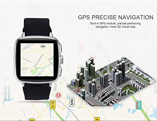 Amh de tenfif Teen X9 APLUS Smart Watch 3 G 1,54 pulgadas Android ...