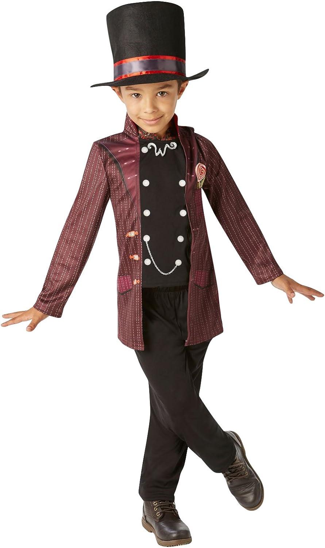 Rubies - Disfraz Oficial de Willy Wonka Charlie y la fábrica de ...