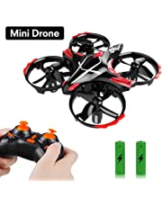 GEEKERA Drone for Children Mini RC Helicopter Flying Toy with Gesture-Controlled Altitude Hold 360-Degree Rotations Toss Take Off and Shake Take off