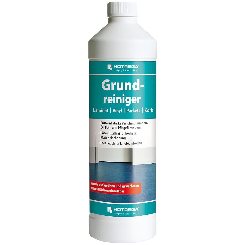 Hortega h110195001 1 L limpiador de laminado/parqué /corcho/suelos de vinilo –  blanco Hotrega