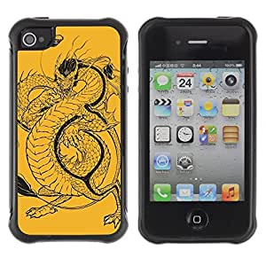 fashion Anti-Shock Defend Case for Apple iPhone 5c for kids / Cool Bull & Lunch Message