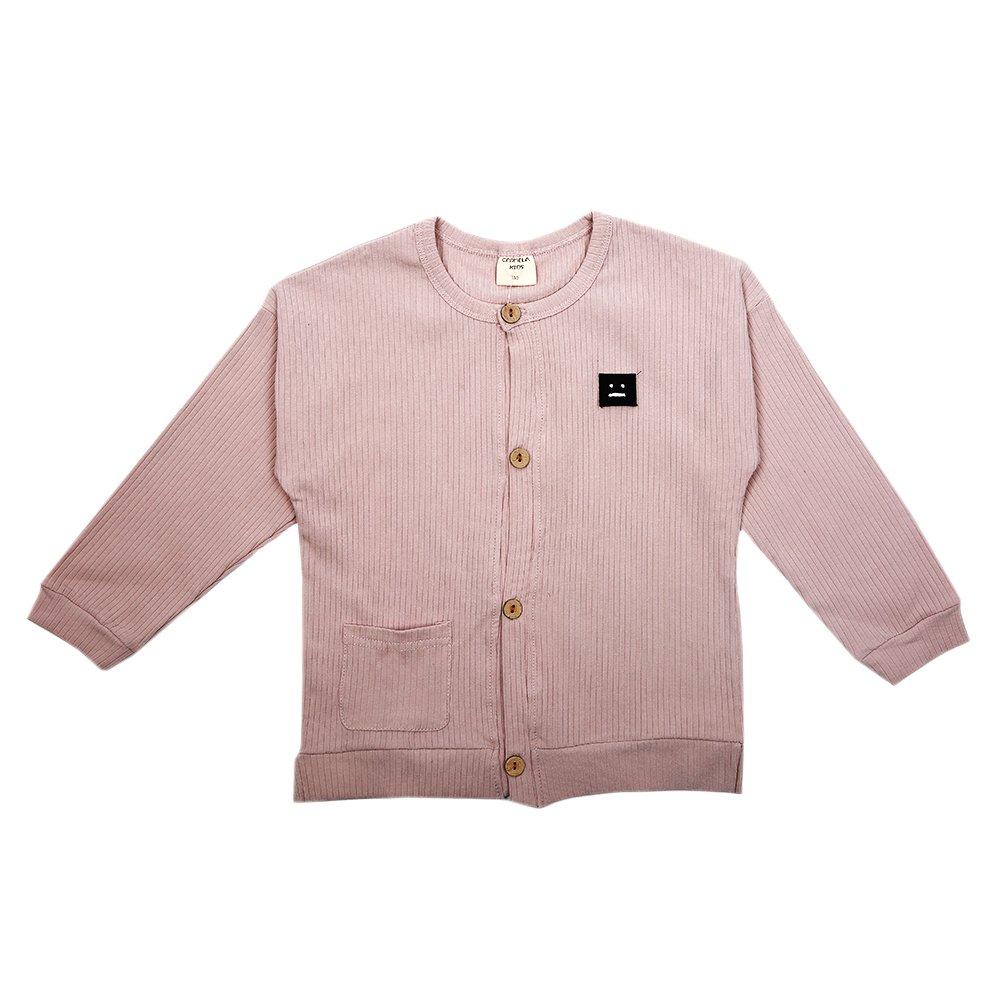CK1226 Unisex Childrens Cotton Pullover Sweatshirt Spring /& Autumn CardiganWarm and Soft Pink