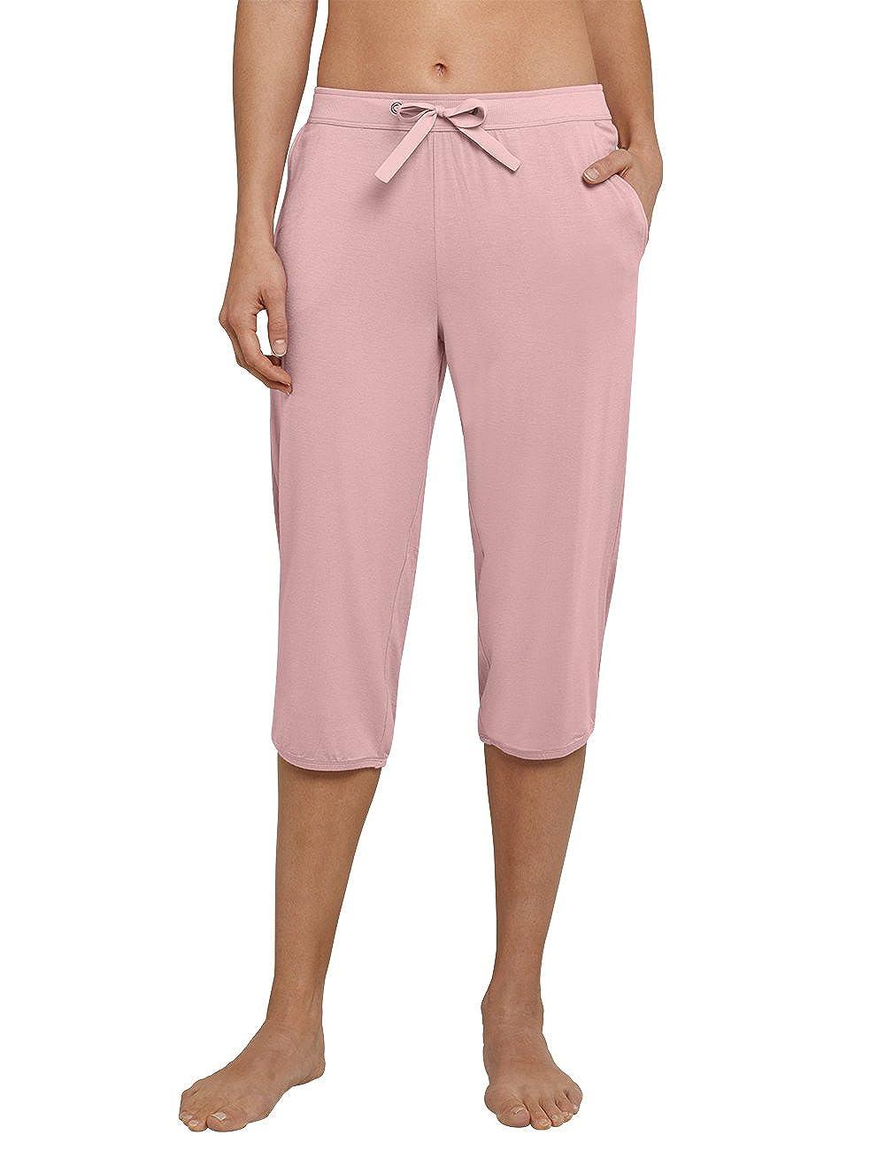TALLA 38. Schiesser Pantalones de Pijama para Mujer