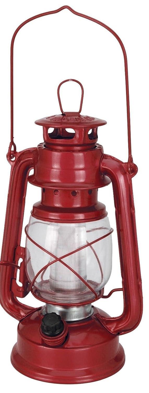 Hurricane Lanterns Gas Style Battery Lantern 16 Led Retro Style Camping Lamp Black